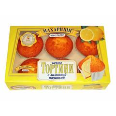 Кекс Махариши с лимонной начинкой 200г