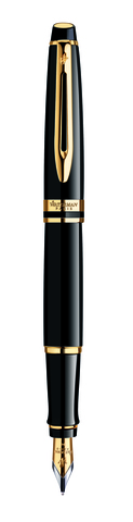 Перьевая ручка Waterman Expert Black GT S0951640