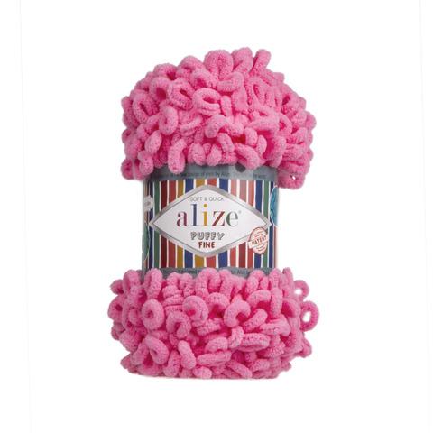 Купить Пряжа Ализе Пуффи Файн Код цвета 121 | Интернет-магазин пряжи «Пряха»