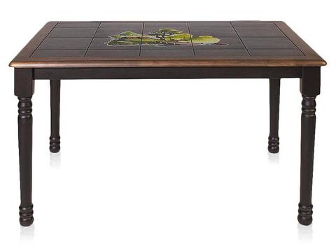 Стол 3045P с плиткой деревянный венге