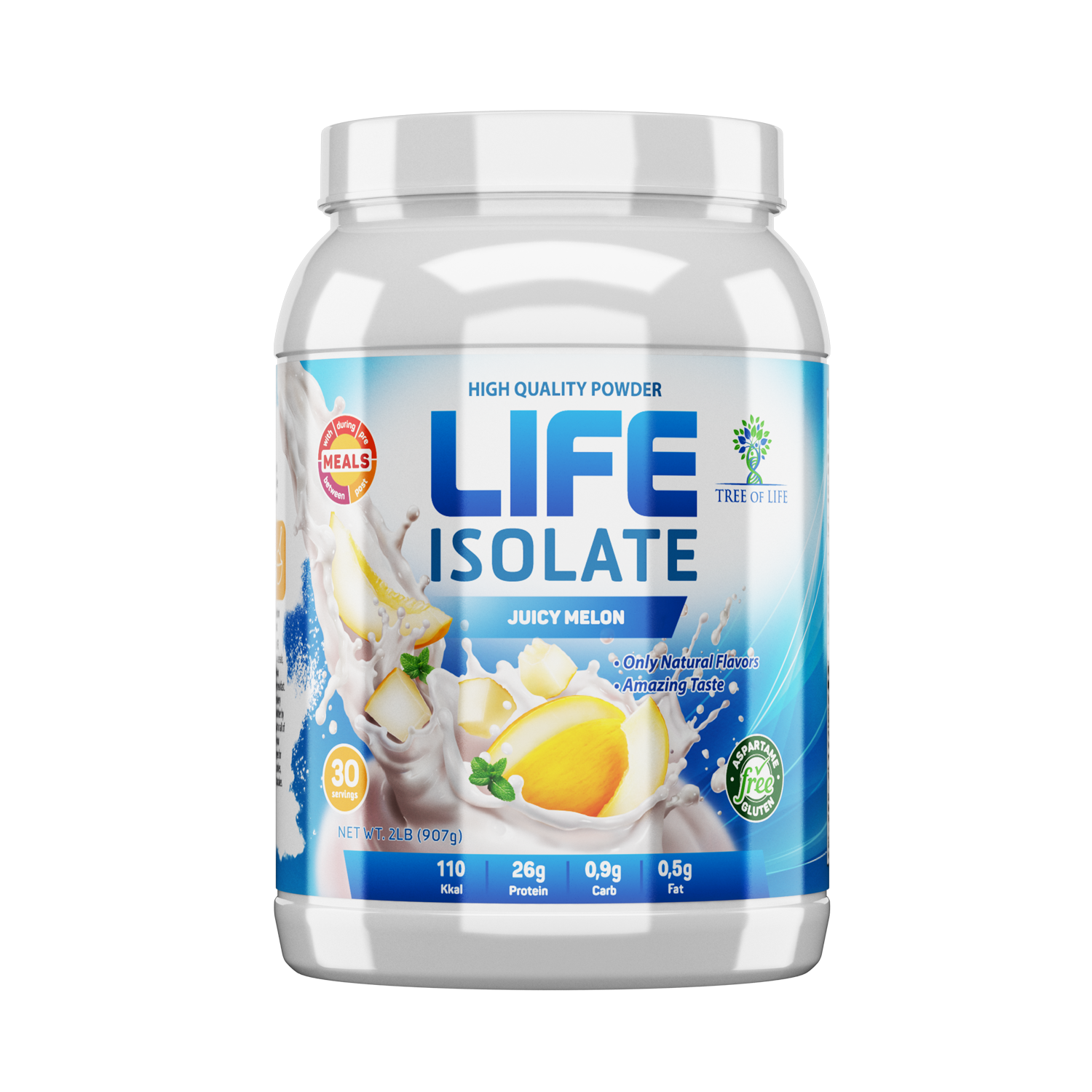 Life Isolate 2lb Juicy melon