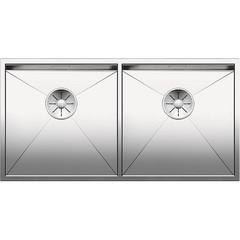 Мойка кухонная 86,5х44 см Blanco Zerox 400/400-U 521620 фото