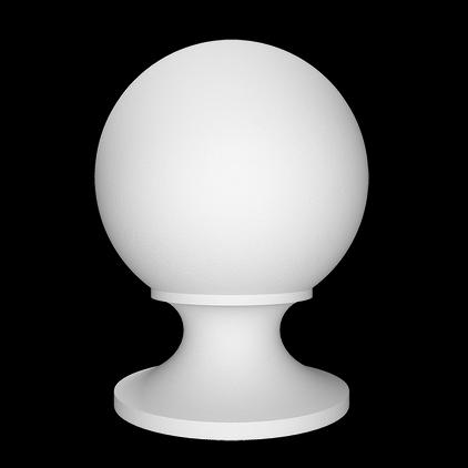 Крышка (шар/балюстрада) Европласт из полиуретана 4.77.201, интернет магазин Волео