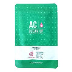 Etude House AC Clean Up Mask Sheet - Маска очищающая для проблемной кожи
