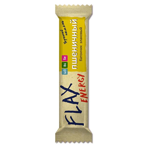 Флакс батончик Energy злаковый, Компас Здоровья, пшеничный, 20 г. * 18шт