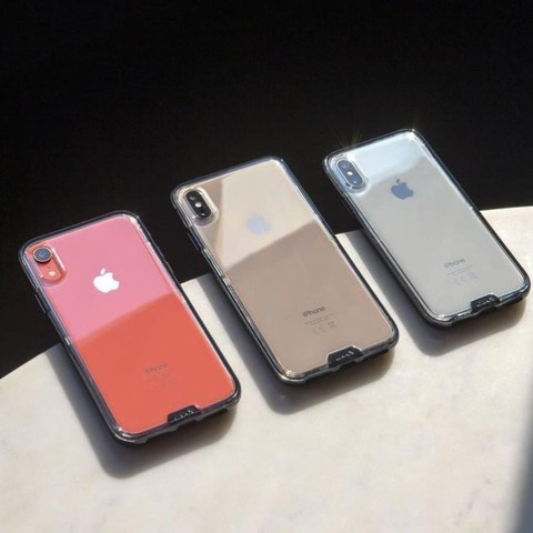 Прозрачный чехол Mous iPhone XS Max Case Clarity
