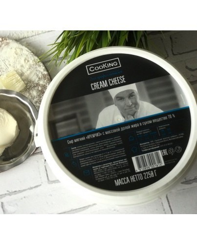 Кремчиз Cream Cheese Cooking, 2250г.