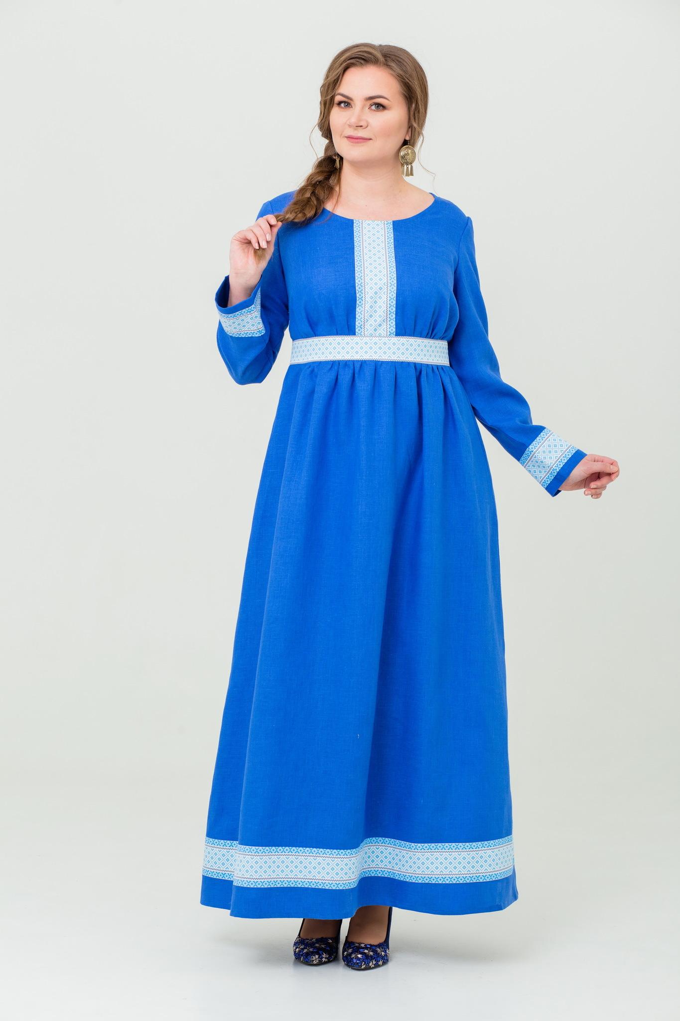 Платье льняное Процветание