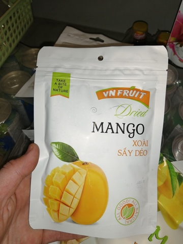 Манго сушеное Vn Fruit - 100 гр.