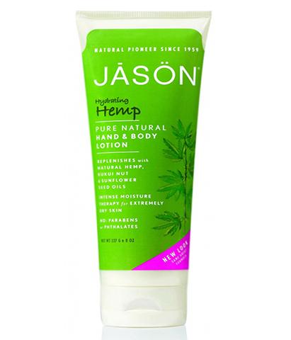 Увлажняющий лосьон с маслом конопли, Jason