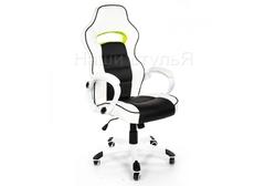 Офисное кресло Лидер (Lider) черно-белое