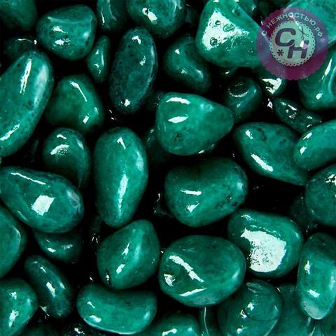 Камешки цветные гладкие для декора 5-10 мм, 350 гр.