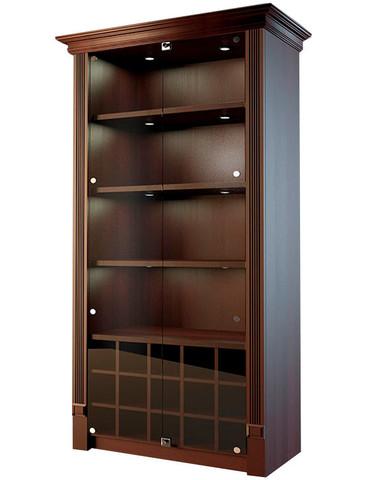 фото 1 Шкаф для дорогого алкоголя со стеклянными дверцами Евромаркет LD 003-CT на profcook.ru
