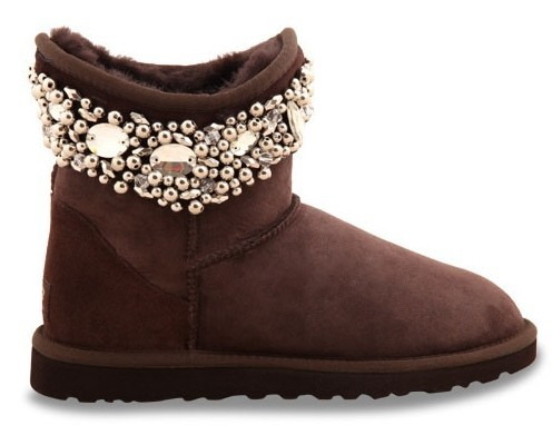UGG & Jimmy Choo Crystals Chocolate