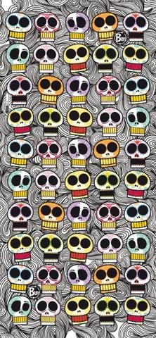 Бандана-труба летняя детская Buff Graphic Skull