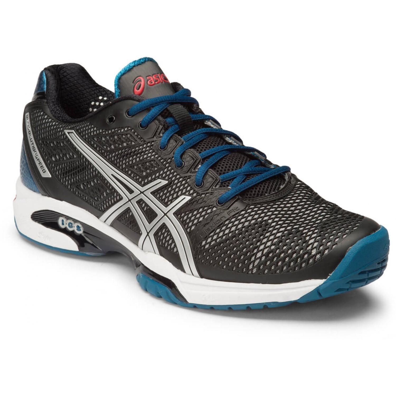 Обувь теннисная Asics Gel-Solution Speed 2 black (E400Y 9993) мужская
