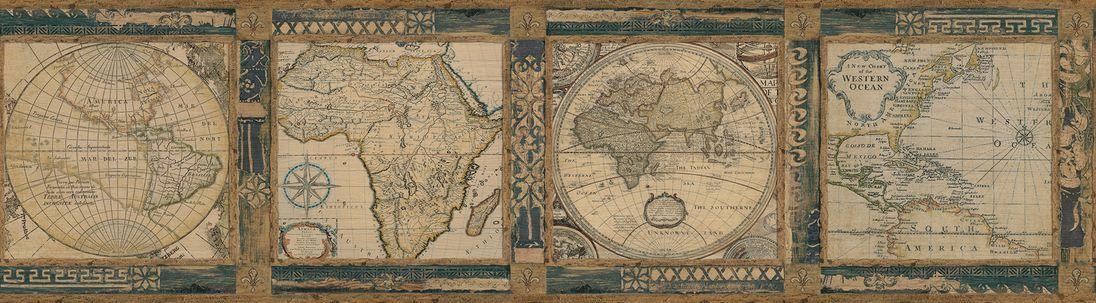 Бордюр Chesapeake Gentlemen's Quarters MAN01831B, интернет магазин Волео