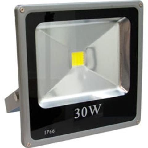 Светодиодный прожектор Feron LL-273 1LED*30W - красный 230V