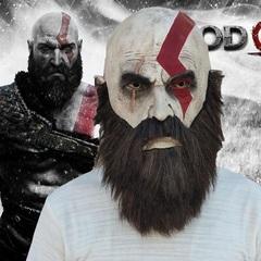 Бог Войны 4 маска Кратос 2018