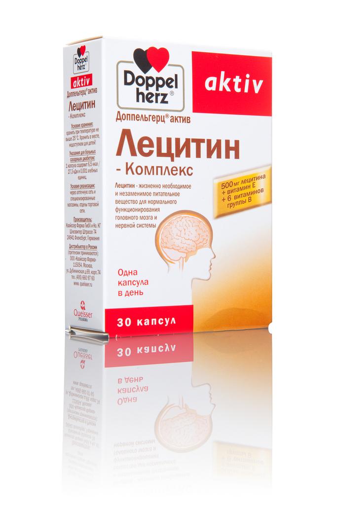 Доппельгерц Лецитин-Комплекс 30 капсул