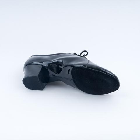Мужские лакированные туфли для латины арт.La419LK