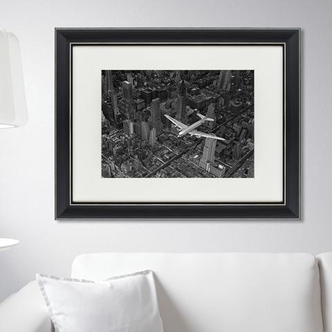 Маргарет Бурк Уайт - Пролетая над Манхэттеном, 1939г