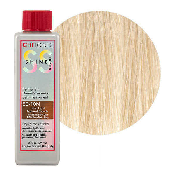 Жидкая краска CHI Ionic Shine Shades Liquid Color 50-10N - EXTRA LIGHT NATURAL BLONDE