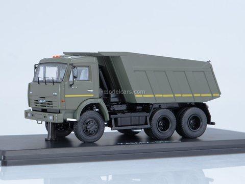 KAMAZ-65115 dump truck khaki 1:43 Start Scale Models (SSM)