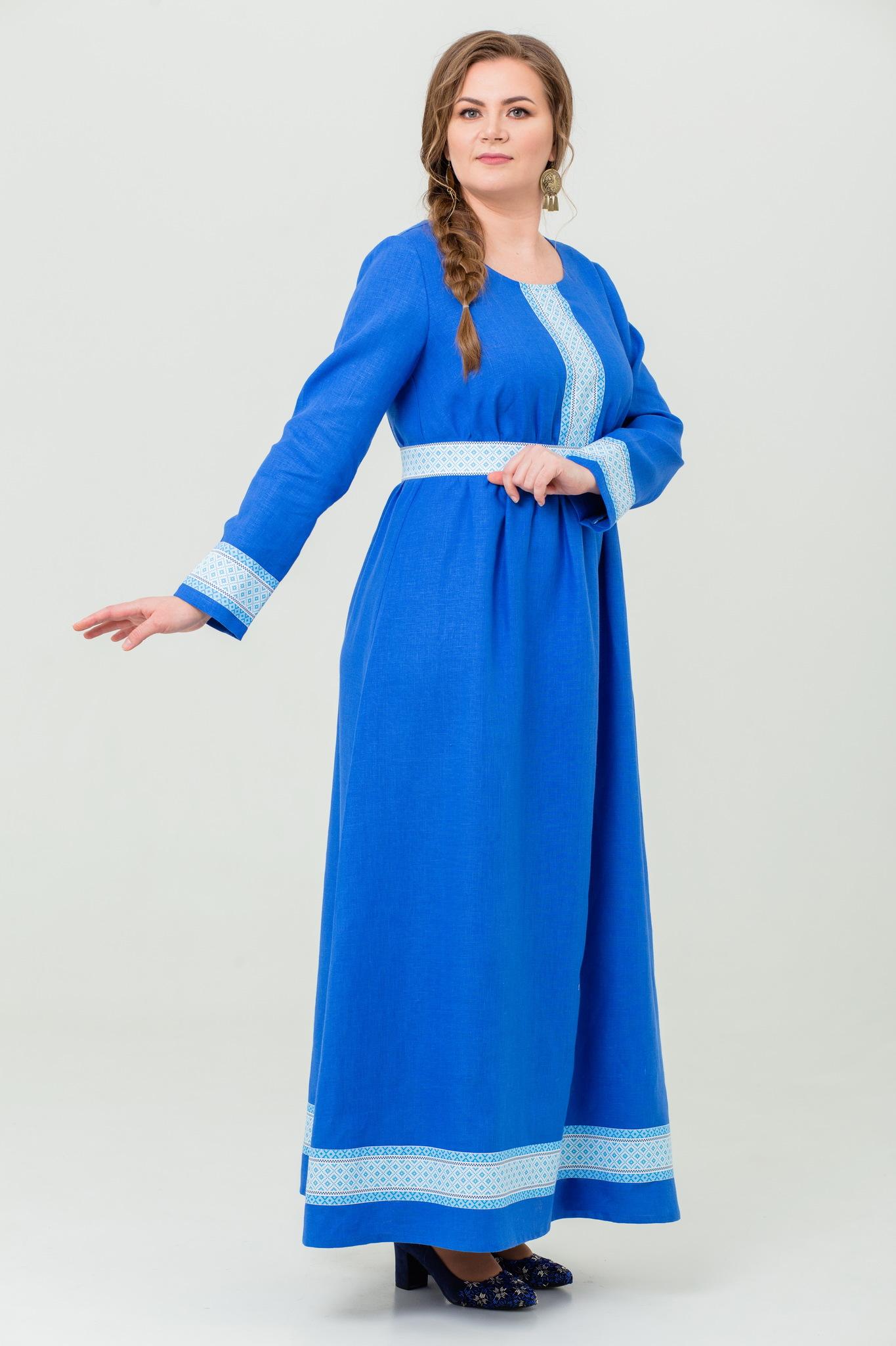 Платье льняное Процветание купить