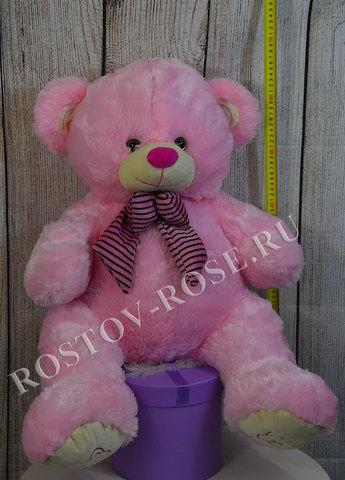 Большой розовый медведь