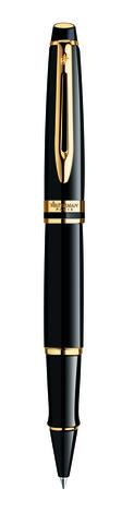 Роллерная ручка Waterman Expert Black GT S0951680