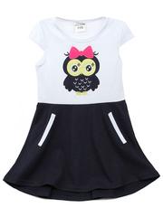 536-3 платье детское, белое