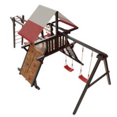 Детская деревянная игровая площадка Таити