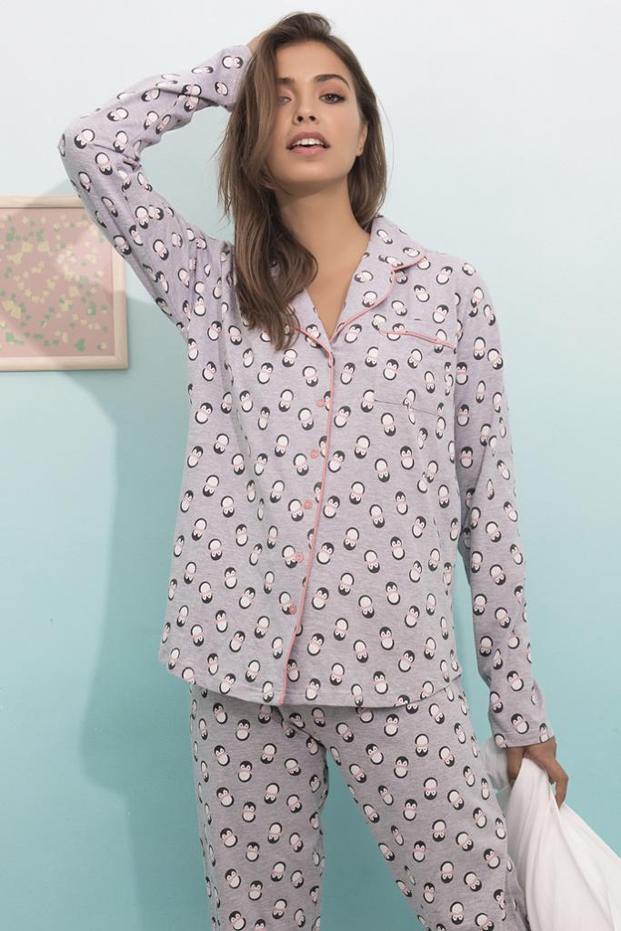 Пижама с пингвинами Admas