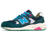 Кроссовки Женские New Balance 580 Elite Edition Green Blue Pink