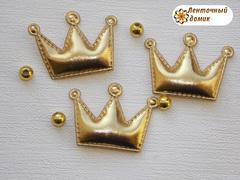 Мягкие короны средние золотые