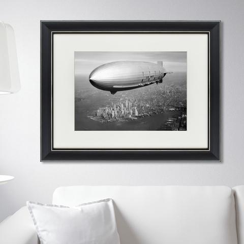 Маргарет Бурк Уайт - Цеппелин над Манхэттеном, 1935г