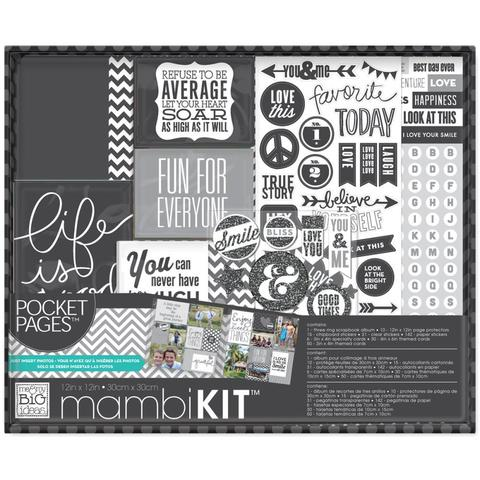 "Альбом Project Life  с наполнением Me & My Big Ideas Boxed Album Kit -30х30 см"" - Life Is Good"