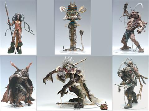 McFarlanes Monsters Set