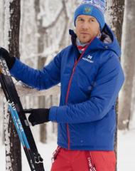 Утеплённая прогулочная лыжная куртка Nordski Motion Patriot мужская