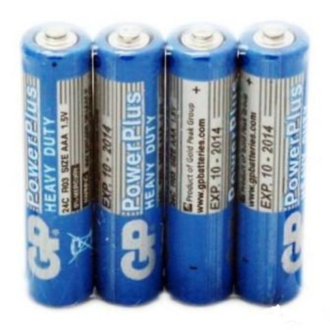 Элемент питания GP R03 PowerPlus к-т4 shrink  1/10/50/250