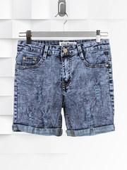 961 шорты женские, синие