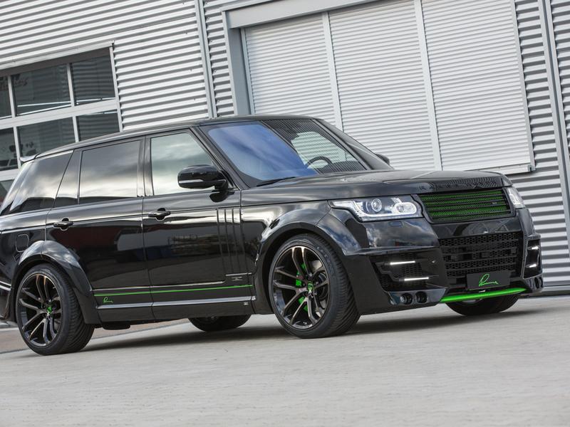 Обвес Lumma CLR R для Range Rover Vogue