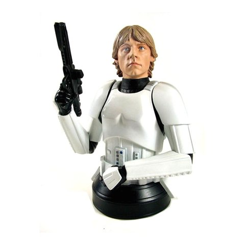 Luke Skywalker in Stormtrooper Disguise