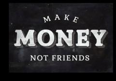 "Постер ""Делай деньги"""