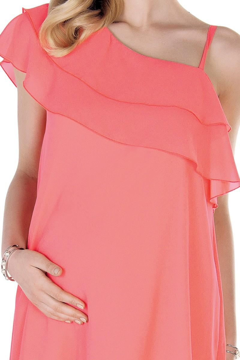 Платье 09532 коралл