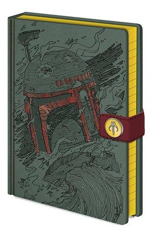 Записная книжка Star Wars (Boba Fett Art)