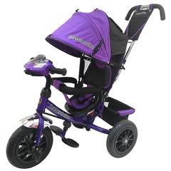 Велосипед Lexus trike 12x10 Надувные, светомуз. панель, Фиолетовый (950M2-N1210P-Violet)