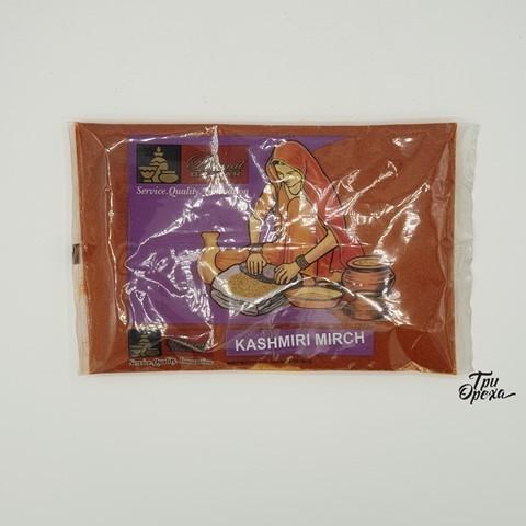 Красный перец молотый не острый Кашмири Мирч Bharat Bazaar, 100 гр