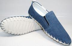 Летнии туфли мужские Alvito 01-1308 92-86